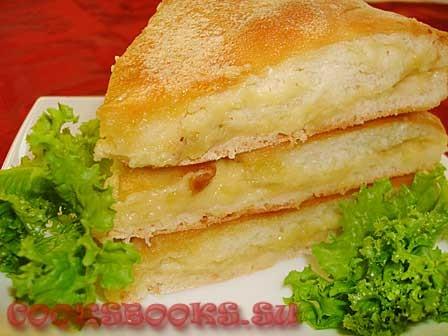 Пироги с сыром и картофелем