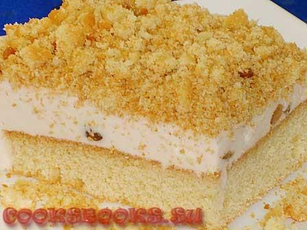 Песочное печенье с суфле