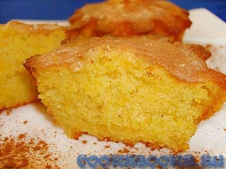 Кекс с апельсином рецепт